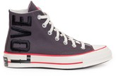 Thumbnail for your product : Converse X Love Fearlessly Chuck 70 Hi-Top Sneakers