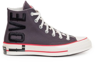 Converse X Love Fearlessly Chuck 70 Hi-Top Sneakers