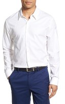James Perse Men's Trim Fit Sport Shirt