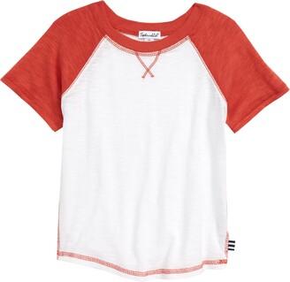 Splendid Raglan Sleeve Baseball T-Shirt