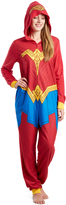 Briefly Stated Wonder Woman Hooded Costume Jumpsuit - Women