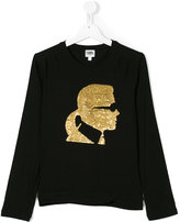 Karl Lagerfeld graphic sweatshirt