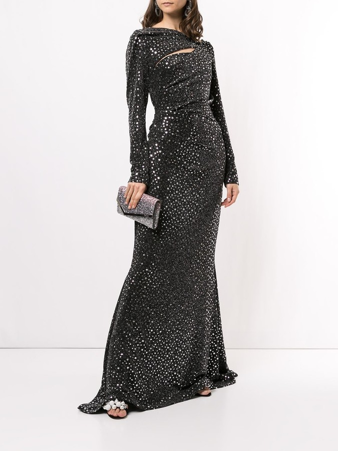 Thumbnail for your product : Talbot Runhof Cologne Lonestar gown