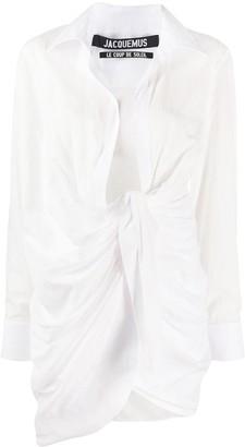 Jacquemus La Robe Bahia mini dress