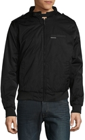 Members Only Men's Heavy Twill Zip-Front Jacket - Black, Size x-large