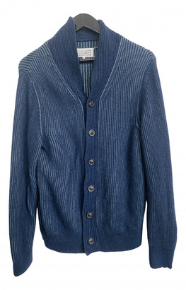 Maison Margiela Blue Wool Knitwear & Sweatshirts