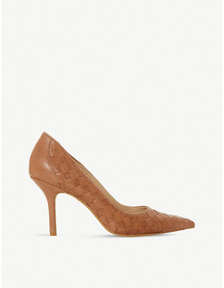 Dune Bowe woven leather courts