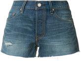 Levi's denim shorts - women - Cotton - 24