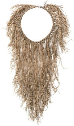 Fabiana Filippi Multi-Tassel Necklace