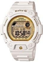 Casio Women's Baby-G BLX100-7B White Resin Quartz Watch with Dial