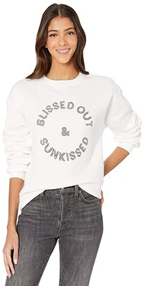 Billabong Blissed Out Crew Sweater (Salt Crystal) Women's Sweater