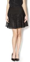 Comme Black Lace Skirt