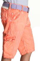 Jet Lag spray washed cargo shorts