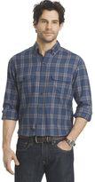 Arrow Big & Tall Plaid Classic-Fit Button-Down Shirt