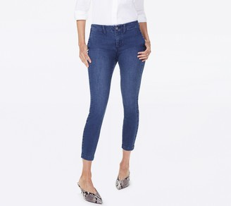 NYDJ Ami Ankle Jeans with Welt Pockets- Clean Nevin