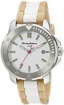 Tommy Bahama RELAX Women's 10022439 Laguna Analog Display Japanese Quartz Beige Watch
