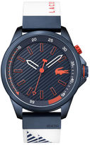 Lacoste Men's Capbreton White Silicone Strap Watch