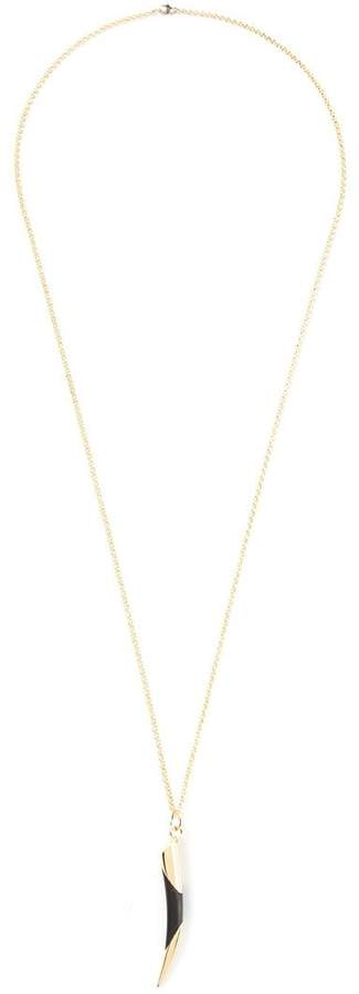 Maiyet horn tip necklace