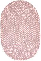 Colonial Mills TI79SAMPLE Confetti Reversible Braided Area Rug