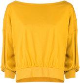 ESTNATION bell sleeve sweatshirt