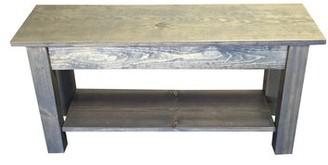 """Millwood Pines Johnie Wood Storage Bench Size: 17"""" H x 72"""" W x 12"""" D"""