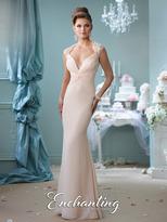 Mon Cheri Destinations by Mon Cheri - 116128 Long Dress In Champagne