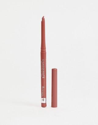 Rimmel Exaggerate Full Colour Lip Liner Definer Addiction