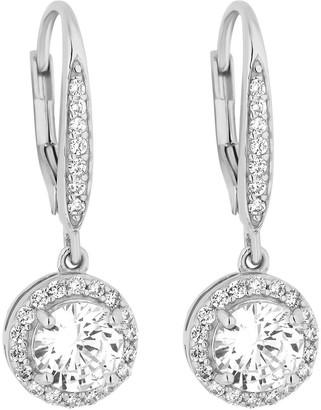Simply Silver Cubic Zirconia Clara Earring