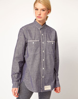 United Bamboo Selvage Chambray Oxford Shirt