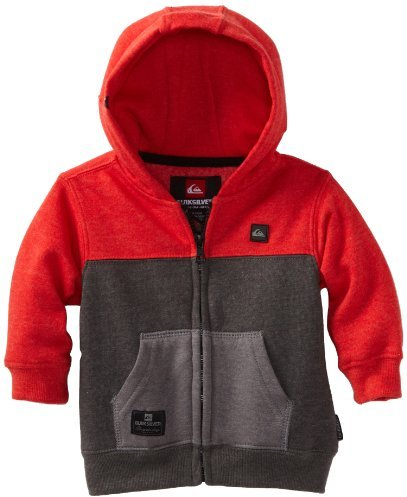 Quiksilver Baby-boys Infant Block It Up Full Zip Fleece