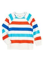 Boy's Mini Boden Towelling Sweatshirt