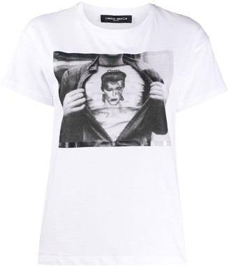 Frankie Morello David Bowie print T-shirt