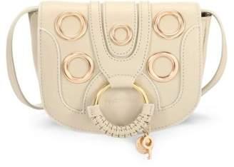 See by Chloe Hana Leather Eyelet Saddle Bag