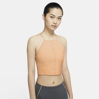 Nike Women's Infinalon Cropped Tank Yoga