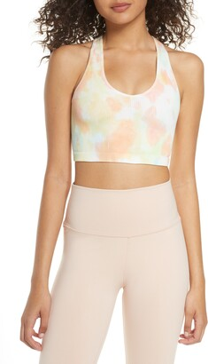 Free People Free Throw Tie Dye Sports Bra