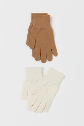 H&M 2-pack Gloves