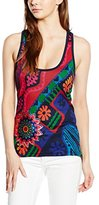 Desigual Women's Knitted T-Shirt Straps