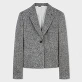 Paul Smith Women's Grey Salt-And-Pepper Tweed Blazer