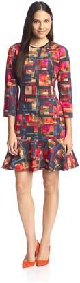 Beatrice. B Women's Printed Dress