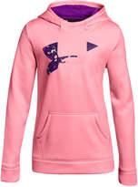 Under Armour Fleece Pullover Logo Hoodie, Big Girls (7-16)
