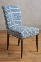 Anthropologie Elza Indigo Dining Chair