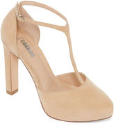 STYLE CHARLES Style Charles Felix T-Strap Platform Pumps