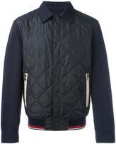 Salvatore Ferragamo quilted bomber jacket - men - Polyester - 48