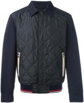 Salvatore Ferragamo quilted bomber jacket - men - Polyester - 50