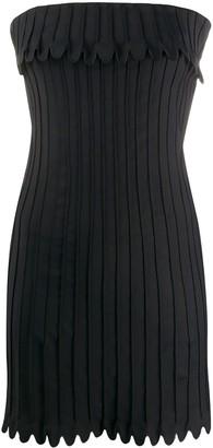 Coperni Ribbed Mini Dress