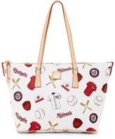 Dooney & Bourke Nationals Zip Top Shopper