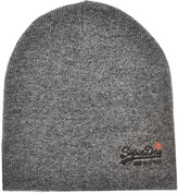 Superdry Orange Label Basic Beanie Hat Grey