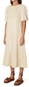 Faithfull The Brand Alberte Linen Midi Dress