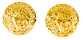 Chanel Lion Clip-On Earrings
