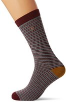 Fat Face Men's Wallace Stripe Socks,(Manufacturer Size: 6.5-9)